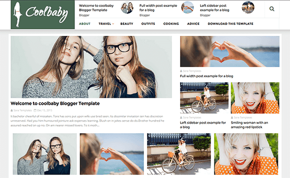 How To Setup Coolbaby Blogger Template