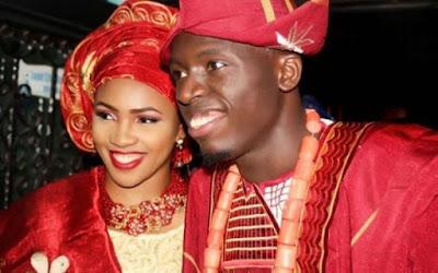 Akpororo & wife