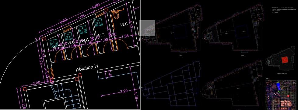 Souvent Plan mosquée autocad DWG | Outils, livres, exercices et vidéos KF28