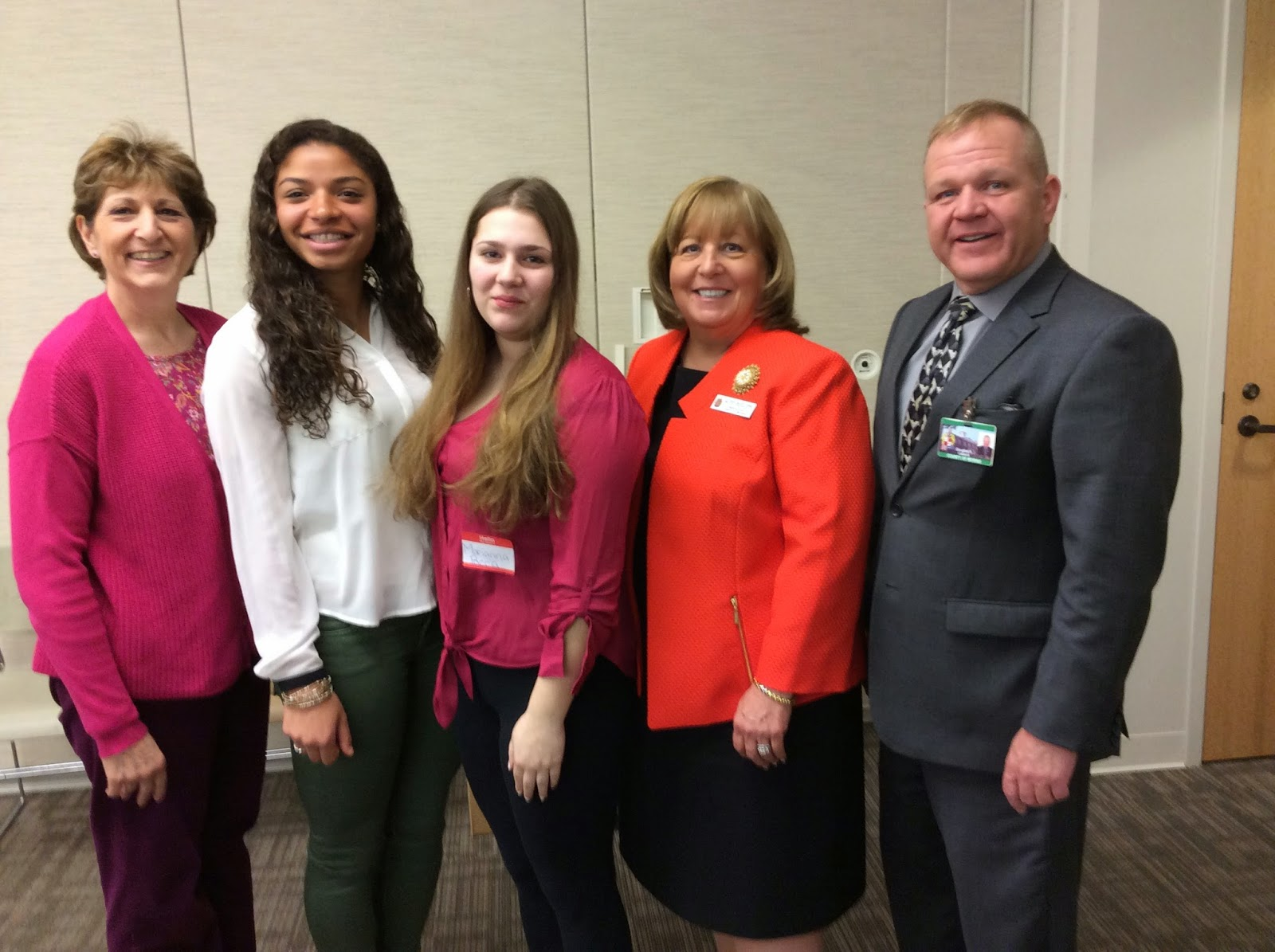 Freeholders Host High School Students