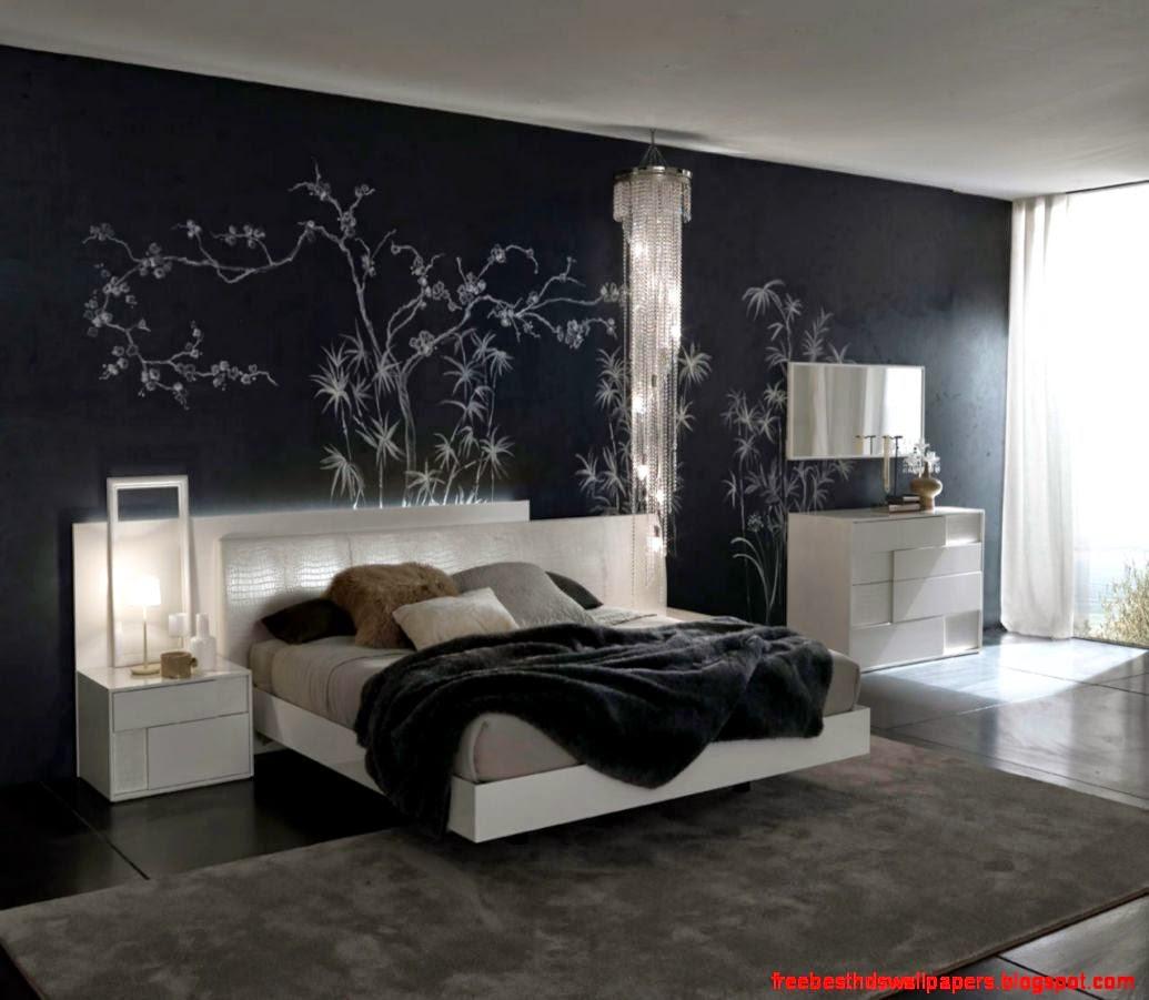 Black Contemporary Wallpaper