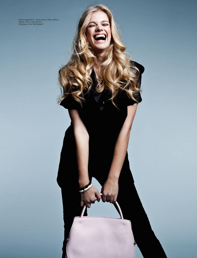 Daily Delight Valerie Van Der Graaf For Elle Serbia
