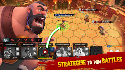 Gladiator Heores MOD Apk v1.7.3 Unlimited Money Android Free Download