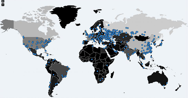WannaCry Ransomware Infected Areas Of Globe