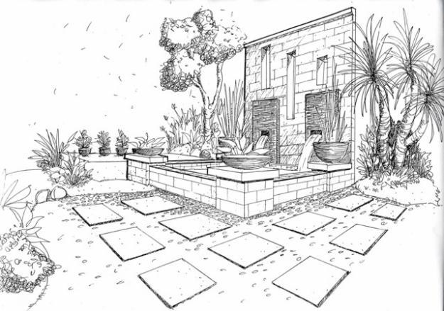Image Result For Sketsa Rumah Kayu