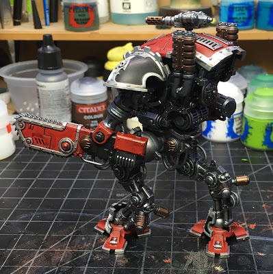 Imperial Knight Armiger Warglaive WIP