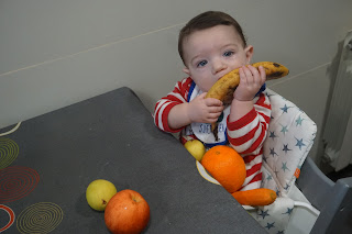 Mi bebe ya come sólidos en su Trona Tripp Trapp+ Introducción de alimentos