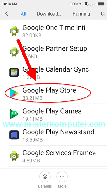 download di playstore tertunda