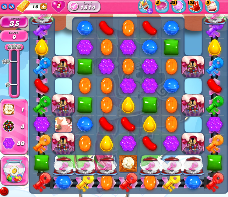 Candy Crush Saga 1814