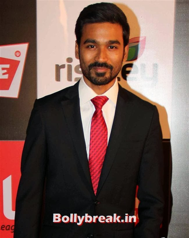 Dhanush, Hot Celebs Grace the Celebrity Cricket League 4 Press Meet