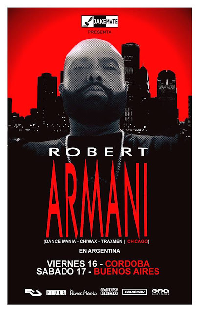 BAGRADIO ///ROBERT ARMANI///