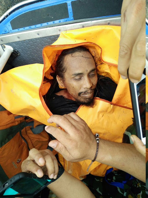 Foto Penampakan Jenazah yang Diduga Santoso Teroris Yang Selama Ini Diburu TNI