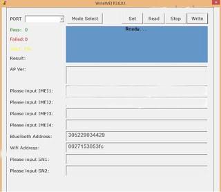Download SPD WriteIMEI Tool - FlashTool org