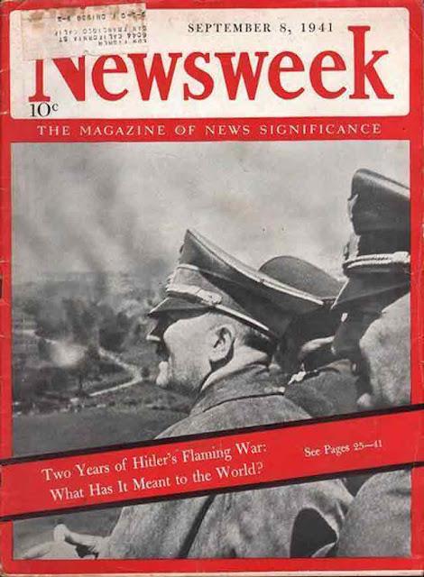 Newsweek Adolf Hitler 8 September 1941 worldwartwo.filminspector.com