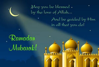 Ramadan Mubarak To The Muslims: may you be blessed by the love of Allah.