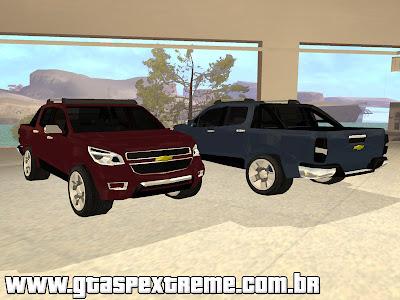 Nova Chevrolet S10 2013 para GTA San Andreas