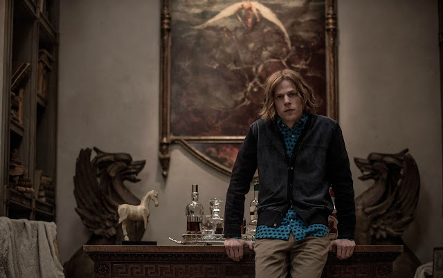 Jesse Eisenberg as the megalomaniacal supervillain Lex Luthor