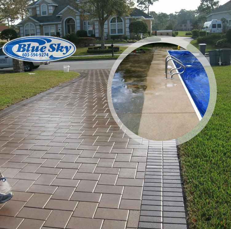 Pressure Washing Concrete Driveways