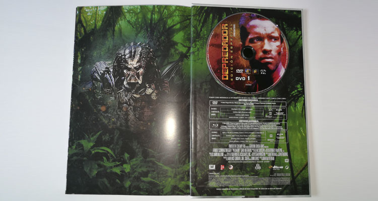 Depredador Collector´s Cut Edition: versión DVD