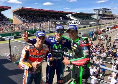 Klasemen Sementara MotoGP Usai GP Le Mans, Prancis 2017