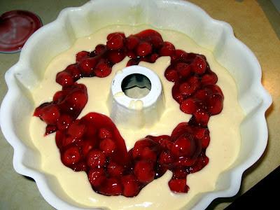 Vanilla Cherry Cake With Chocolate Ganache Tutorial The