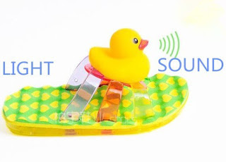 Toddler sound and LED Light Up Shoes