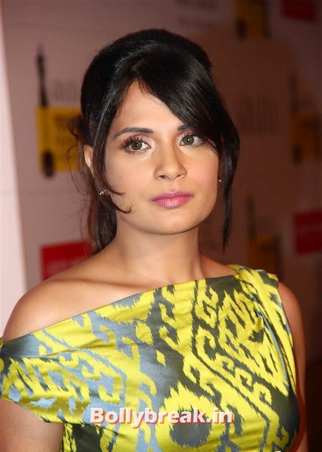 Richa Chadda, Hottest Celebs of Bollywood at Grazia Young Fashion Awards 2014