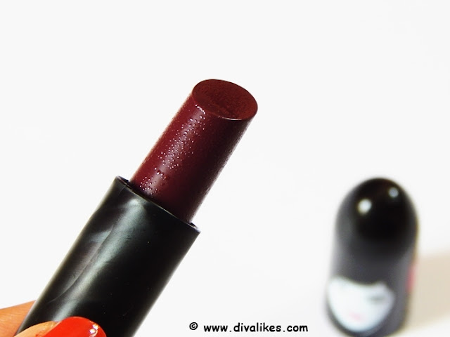 Elle 18 Color Pops Matte Lipstick Cherry Wine