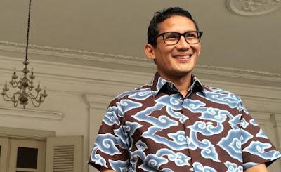 Calon Gubernur DKI Jakarta, Sandiaga Uno