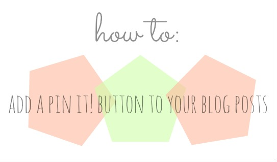 how to add the pin it button to your website