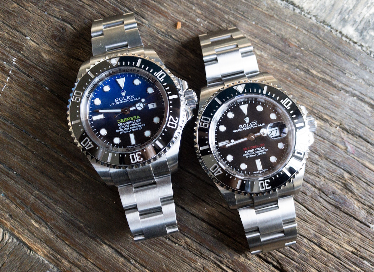 New Red Sea Dweller Vs DeepSea with a few pics!
