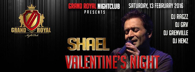 Valentine's Night at The Grand Royal wth Shael in Noida