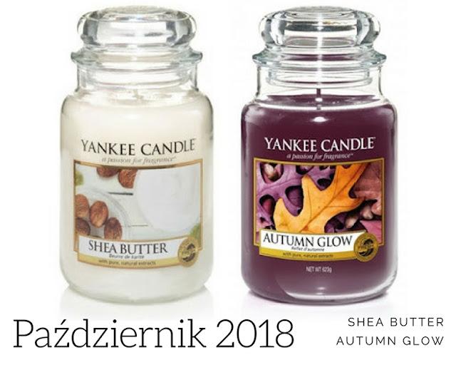 zapach miesiąca yankee candle październik 2018