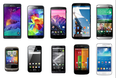 diagrams of android phones