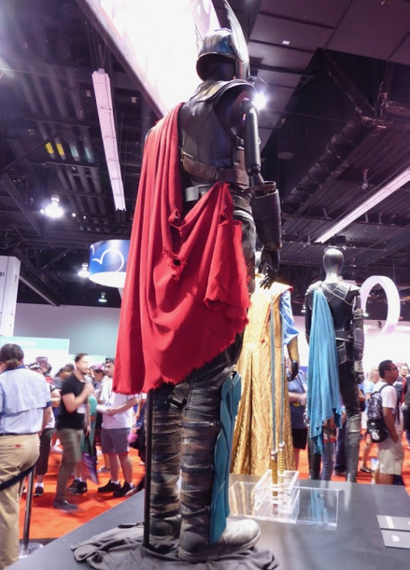 Thor Ragnarok costume cape back detail