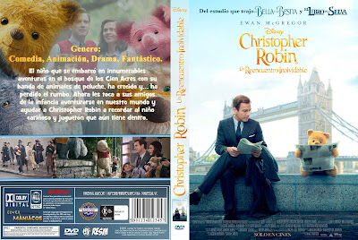 CARATULA - CHRISTOPHER ROBIN: UN REENCUENTRO INOLVIDABLE - CHRISTOPHER ROBIN - 2018