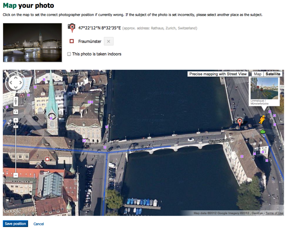 Click The Button To Enter Street View Mode Or Drag And Drop Pegman Place You Took Image