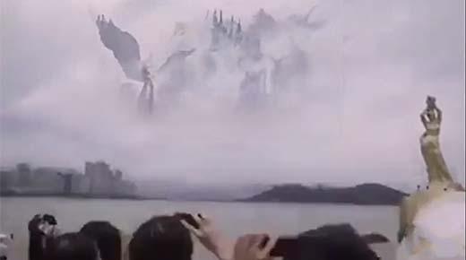 ¿Puerta de entrada al paraíso avistada? Un 'coro de ángeles' es visto en el cielo de China