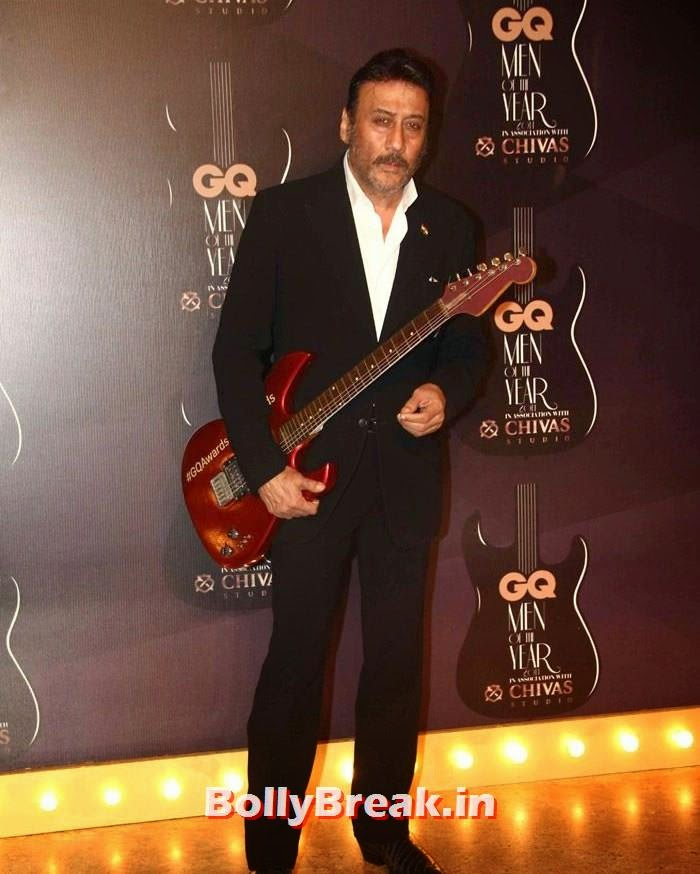 Jackie Shroff, Red Carpet Pics of GQ Men Of The Year Awards 2014