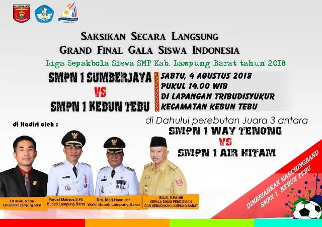 Besok, Grand Final 'Gala Siswa SMP'