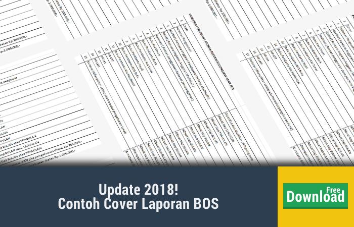 Contoh Cover Laporan BOS