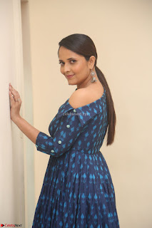 Anchor Anasuya in a Blue Gown at Jai Lava Kusa Trailer Launch ~  Exclusive Celebrities Galleries 047.JPG