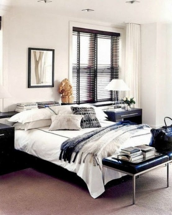Black And White Bedroom Designs Bedroom Decor Curtains Childrens Bedroom Decorating Ideas Pictures Bedroom Design With Closet: Nice Masculine Bedroom Design Ideas