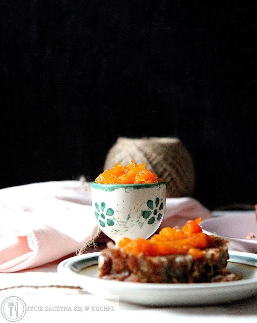 Pomarańczowy dżem z dyni
