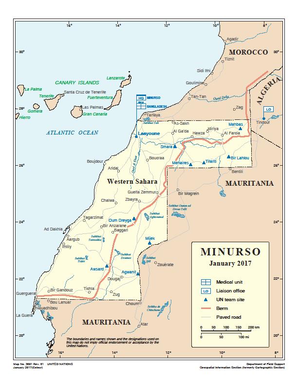 El comisario Cañete confirma la condición distinta y separada del Sáhara Occidental