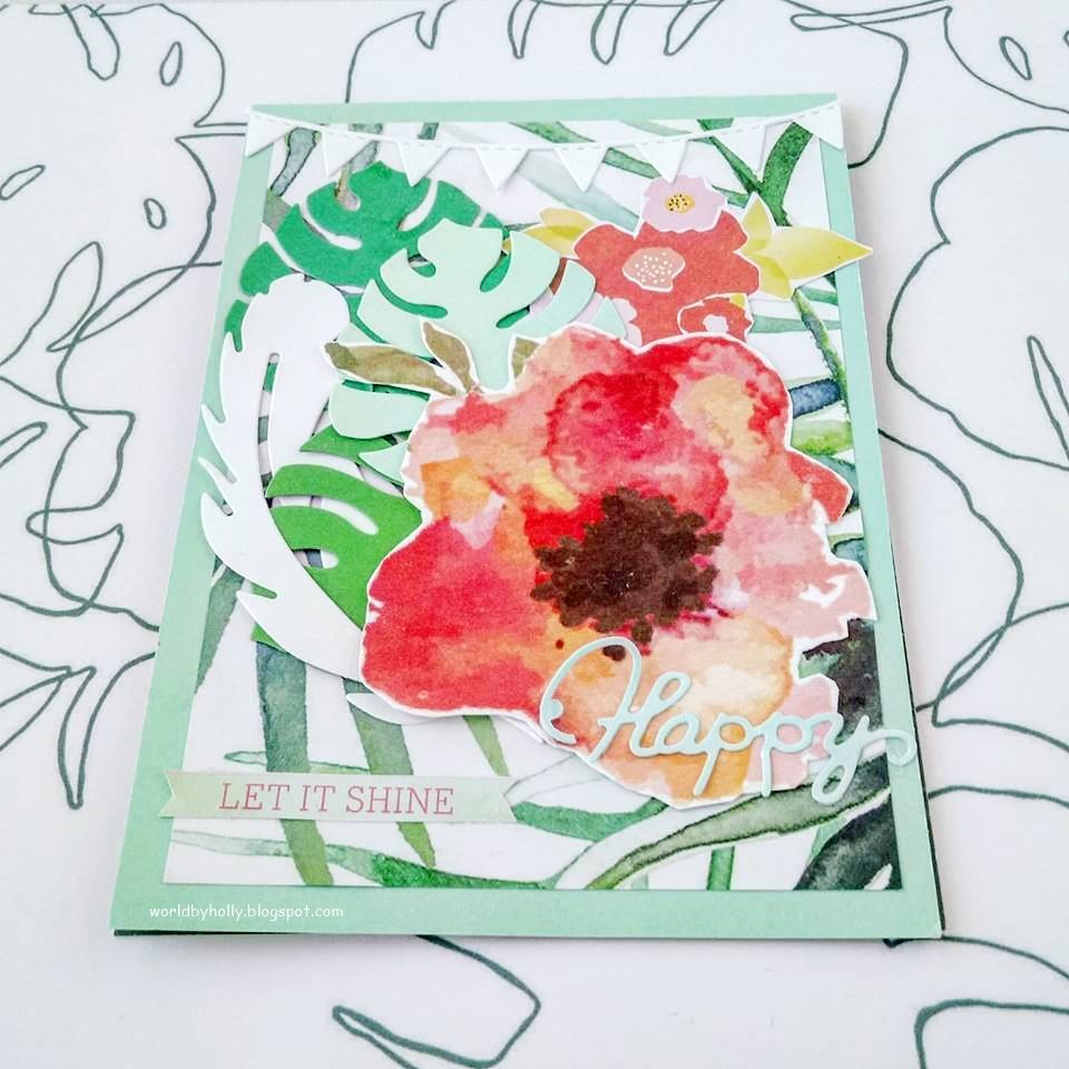 kartka na imieniny, kartka handmade, kartka ręcznie robiona, jesienna kartka
