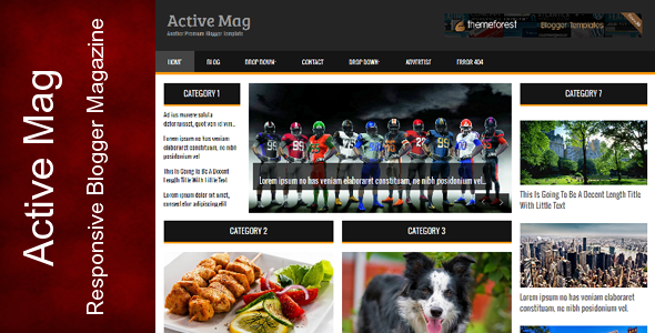 Active Mag – Themeforest