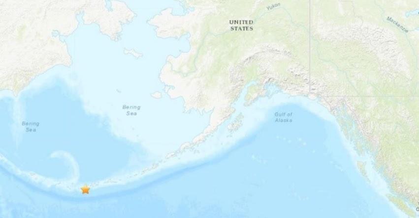 Terremoto en Alaska de Magnitud 6.1 y Alerta de Tsunami (Hoy Jueves 23 Mayo 2019) Sismo - Temblor - EPICENTRO - Isla Amatignak - Estados Unidos - EE.UU. - USGS