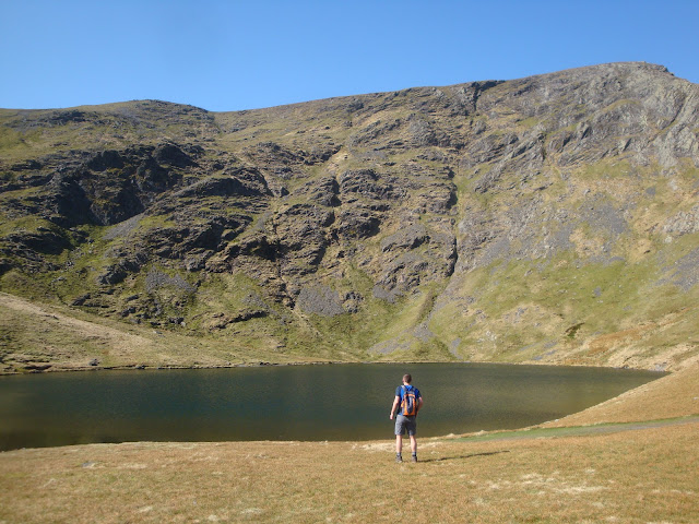 sharp edge, scales tarn, blencathra, lake district