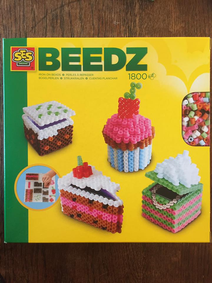 06258 Perles /à Repasser-G/âteaux en 3D-Beedz SES Creative